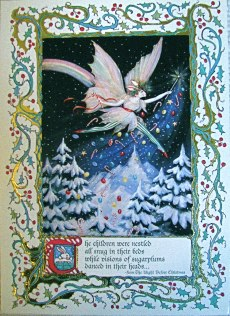 Christmas Fairy foiled and embossed